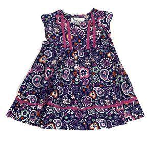 Pippa & Julie Boho Paisley Print Dress 18M